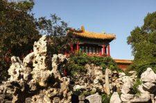 Imperial Garden of the forbidden city
