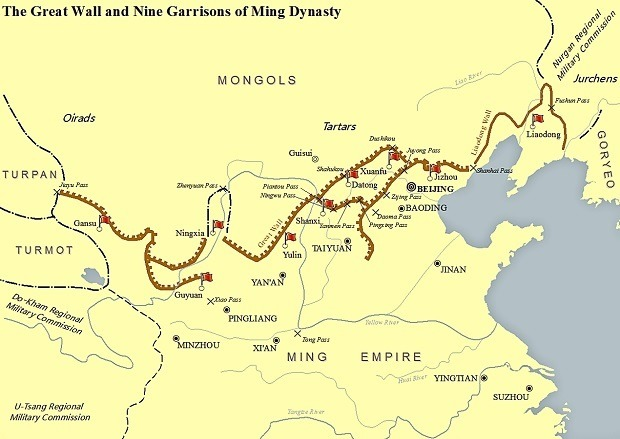 Map Of Great Wall Of China Great Wall of China: Facts, History, Maps, Travel Tips, Tours