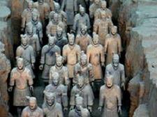 Terra cotta Warriors in Xian