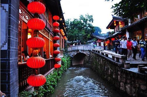 Lijiang Ancient Town Yunnan
