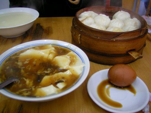 Breakfast in Beijing