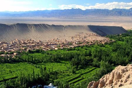 Grape Valley near Turpan