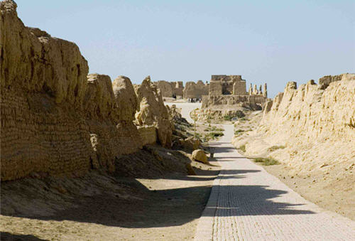 Jiaohe Ruins Xinjiang Jiaohe Ancient City Jiaohe Gucheng