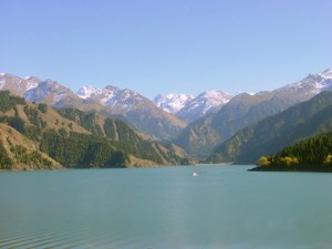 Heavenly Lake, Tianshan, Xinjiang