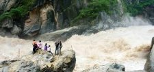 Hiking at Tiger Leaping Gorge