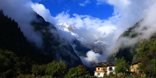Shangri la trekking