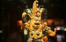 Heavenly King Pottery in Shaanxi History Museum