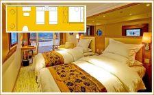 mv president 7 cruise ship room types