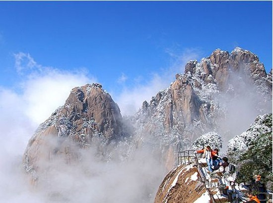 Visiting Huangshan Mountain In Winter Into China Travel