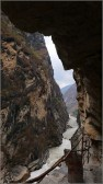 one line sky of tiger leaping gorge