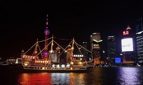 huangpu river cruise ship