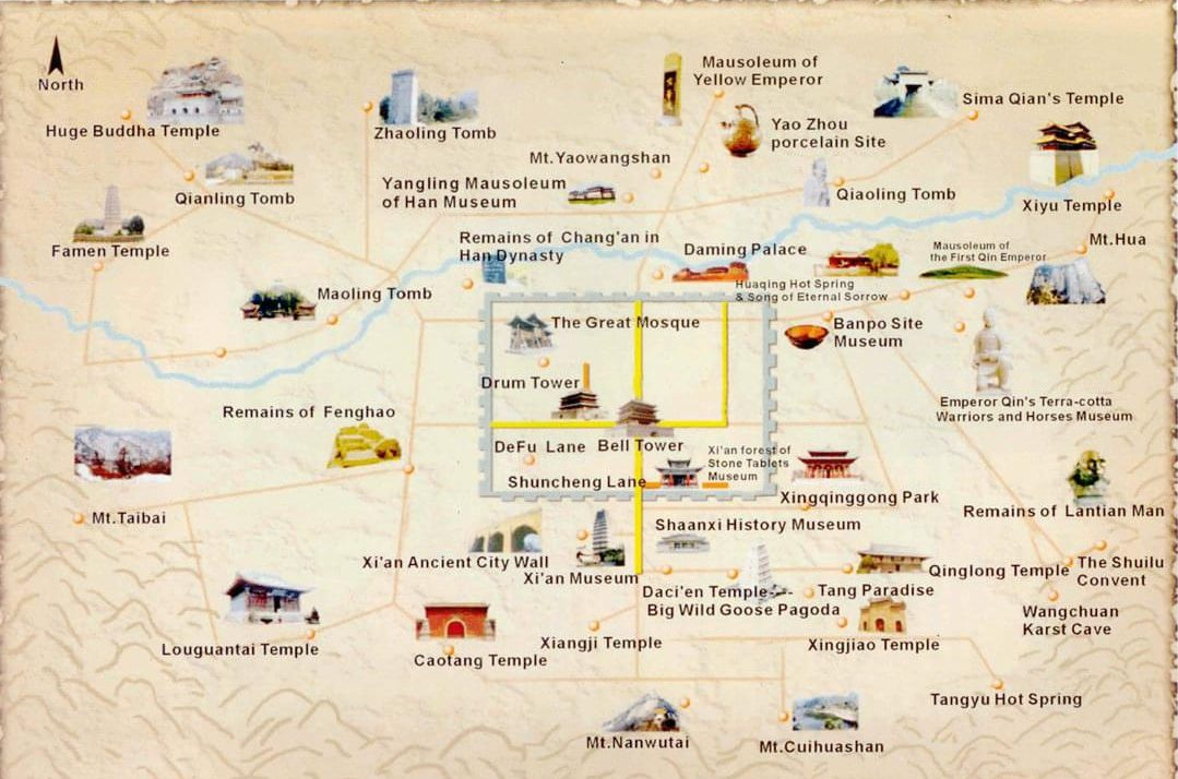 Xi'an Tours, Xi'an Day Trip and Packages, Xian Travel