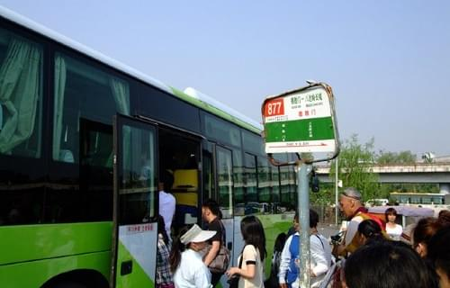 bus 877 to badaling great wall