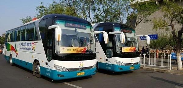 qianmen mutianyu bus